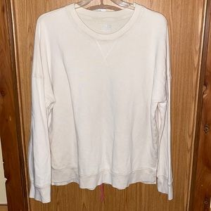 Woman's plus size sweatshirt 3xl time and tru
